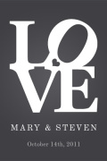 Personalized Love Print