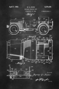 Willy Jeep Patent Poster