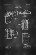 Zippo Lighter Patent Poster