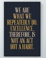 A Habit Poster