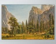 Albert Bierstadt - Bridal Veil Falls, Yosemite Poster