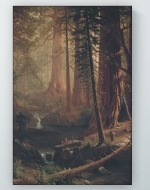 Albert Bierstadt - Giant Redwood Trees of California Poster