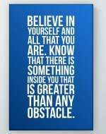 Any Obstacle Poster