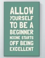 Be A Beginner Poster