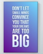 Big Dreams Poster
