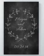 Chalkboard Anniversary Poster