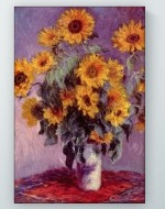 Claude Monet - Bouquet of Sunflowers Poster