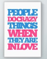 Crazy Things Poster