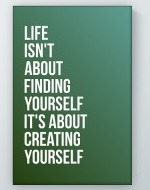 Creating Yourself Poster