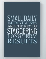 Daily Improvements Poster