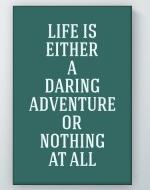 Daring Adventure Poster