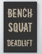 Deadlift Poster