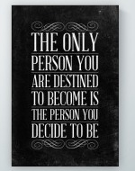 Decide To Be Poster