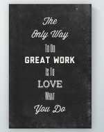 Do Great Work Poster