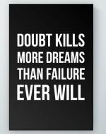 Doubt Kills Poster