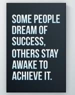 Dream Of Success Poster
