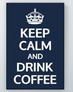 Drink Coffee Poster