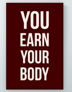 Earn Your Body Poster