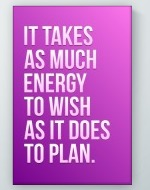 Energy To Wish Poster