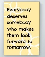 Everybody Deserves Poster