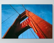 Golden Gate Bridge Tower Poster