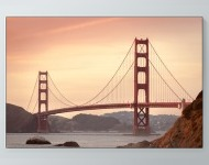 Golden Gate From Afar Poster