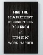Hardest Working Poster