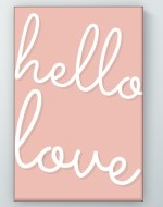 Hello Love Poster