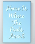 Home Funny Poster