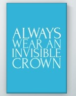 Invisible Crown Poster