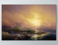 Ivan Aivazovsky - The Ninth Wave Poster