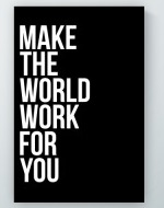 Make The World Poster