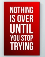 Nothing Is Over Poster