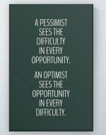 Optimist Poster