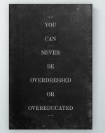 Overeducated Poster