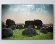 Peaceful Boulders Poster