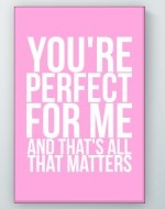 Perfect For Me Poster