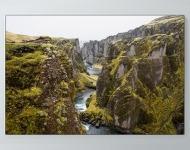River Through Rock Poster