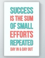 Small Efforts Poster