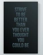 Strive Poster