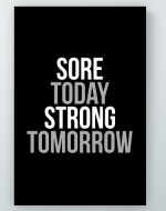 Strong Tomorrow Poster