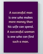 Successful Man Poster