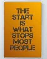 The Start Poster