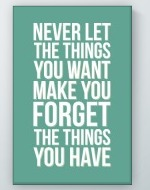 Things You Have Poster