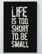 To Be Small Poster