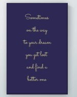 To Your Dream Poster