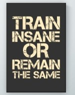 Train Insane Poster