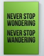 Wandering Poster