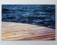 Water At The Dock Poster