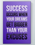 Your Excuses Poster